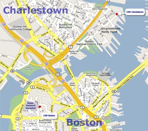 Charlestown Ma Map